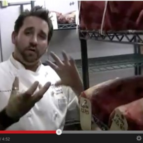 David Burke's Primehouse Dry Aging Room Tour